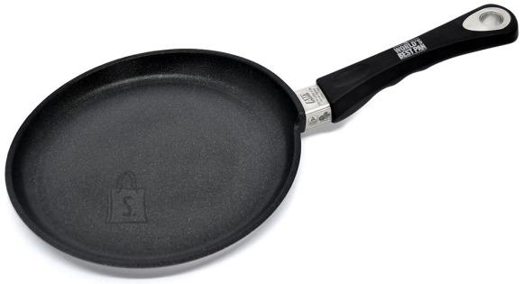 Worlds Best Pan Pannkoogipann 24 x 1cm, valualumiinium, paksus 9-10mm, mittenakkuv Lotan kate, ahjukindel käepide (kuni240*C)