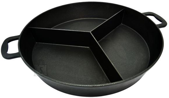 Worlds Best Pan Suur pann 65 cm, H 9 cm, 3 segmendiga