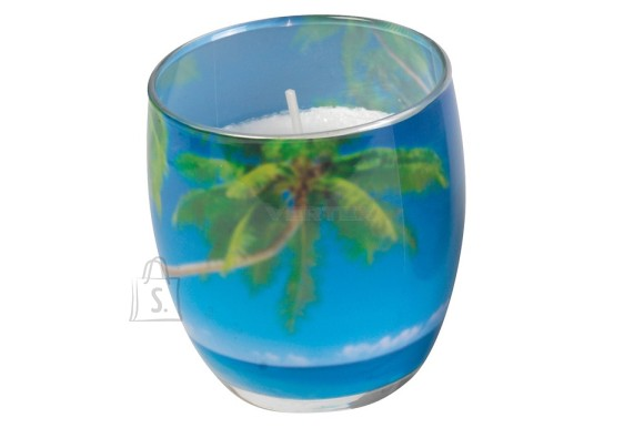 Gies Lõhnasteariinküünal dek.klaasis,Bahama B