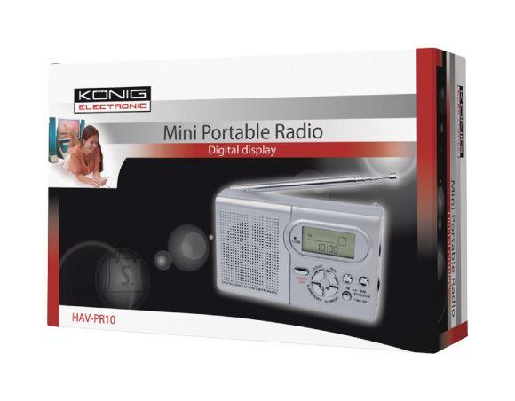 K��nig König kaasaskantav raadio 2xAAA patareid AM/FM EOL