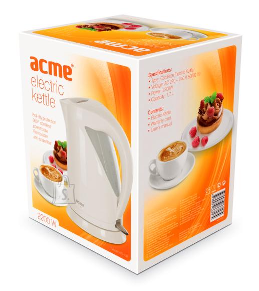 ACME ACME veekeetja KB-100, 2200 w, 1,7 L, valge EOL