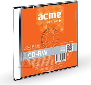 ACME CD-RW ACME 700MB 12x High Speed Slim