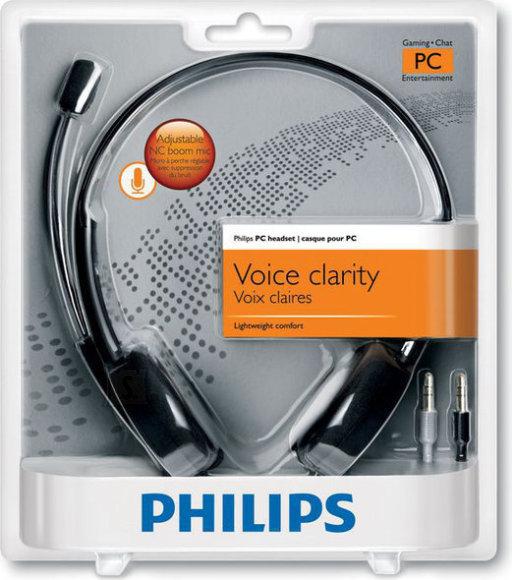 Philips Philips SHM3550 arvuti peakomplekt, must