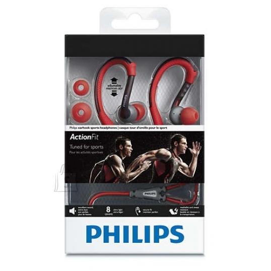 Philips Philips SHQ3200 sportlikud kõrvaklapid kõrvakonksuga, oranž/hall TELL