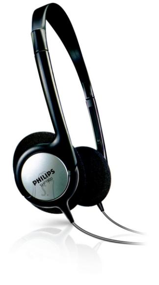 Philips Philips SHP1800 kerged kõrvaklapid, mustad, 6m kaabel, pult EOL