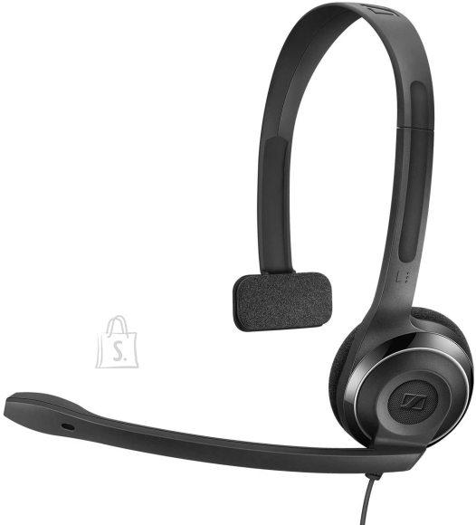 Sennheiser Kõrvaklapid mikrofoniga, PC7, mono peakomplekt, USB