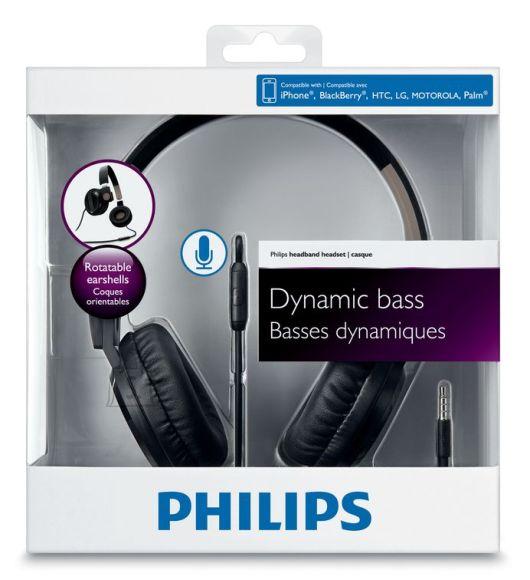 Philips Philips SHL4005 kokkupandav peakomplekt mustad/pruunid EOL