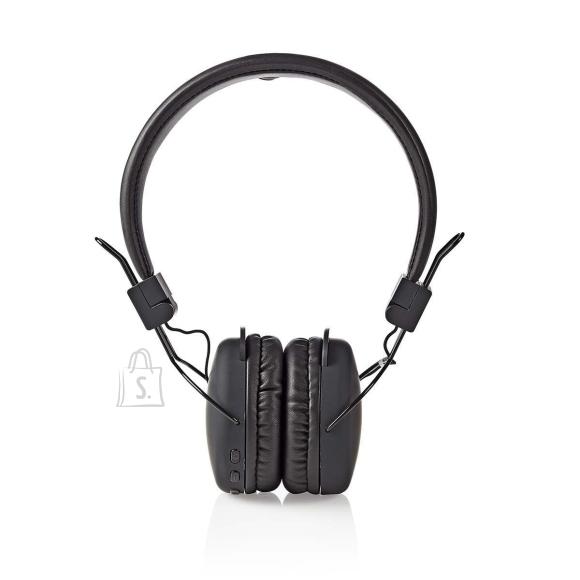 Nedis Juhtmevabad kõrvaklapid, mikrofoniga, must