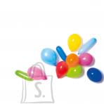 Amscan Õhupallid erivärvid, 100 tk / 10