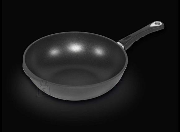 Worlds Best Pan Wokpann 32x10 cm, valualumiinium, paksus 9-10mm, mittenakkuv Lotan kate, ahjukindel käepide (240*C)