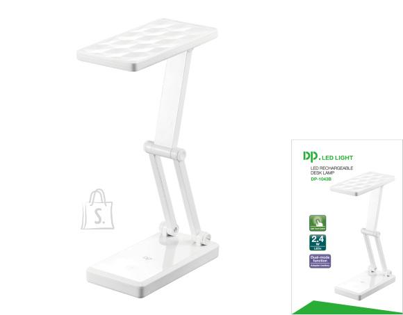 DP Laetav LED laualamp akuga, USB
