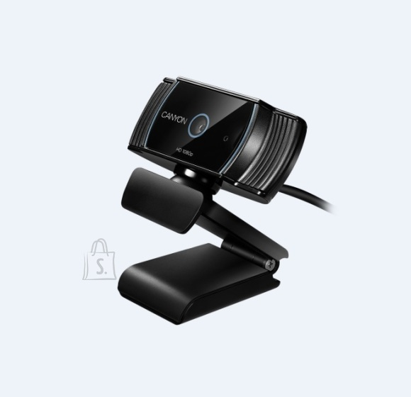 Canyon Veebikaamera FullHD, 1080p, mikrofon, USB