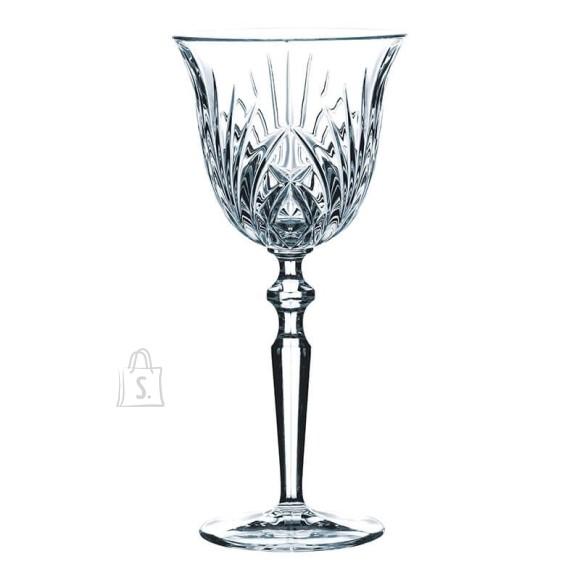Nachtmann Palais punase veini kristallklaasid 6tk