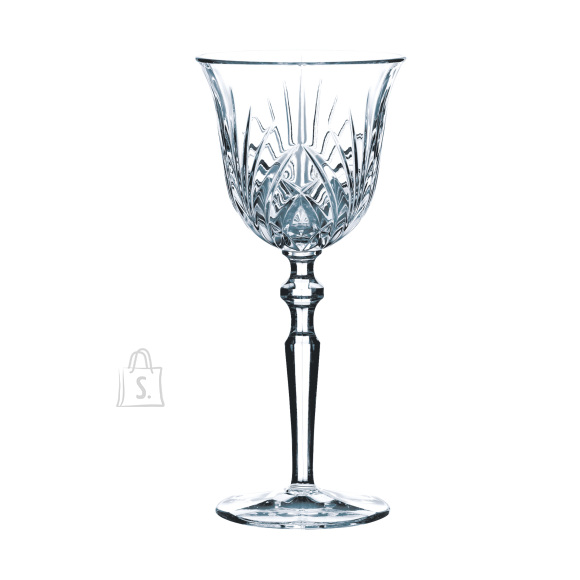 Nachtmann Palais valge veini kristallklaasid 6tk