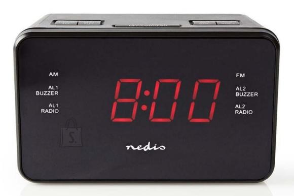 Nedis Raadio Nedis, LED-ekraan, must