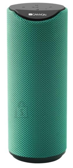 Canyon Kõlar, Bluetooth, Canyon BT V5.0, 3W, roheline