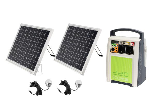 Tammer Ecoboxx päikeseenergia salvesti ja laadija