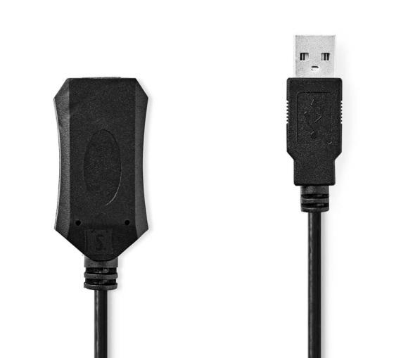 Nedis USB 2.0 kaabel Nedis USB-A M - USB-A F, 5m