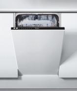 Whirlpool nõudepesumasin, integreeritav, 45cm, A+, 51dB