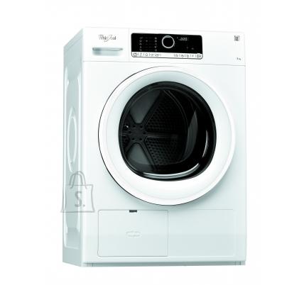 Whirlpool kuivati, soojuspumbaga, 7 kg, A++, LCD, valge
