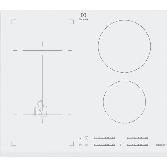 Electrolux pliidiplaat, 4 x induktsioon, 60 cm, valge, faasitud esiserv