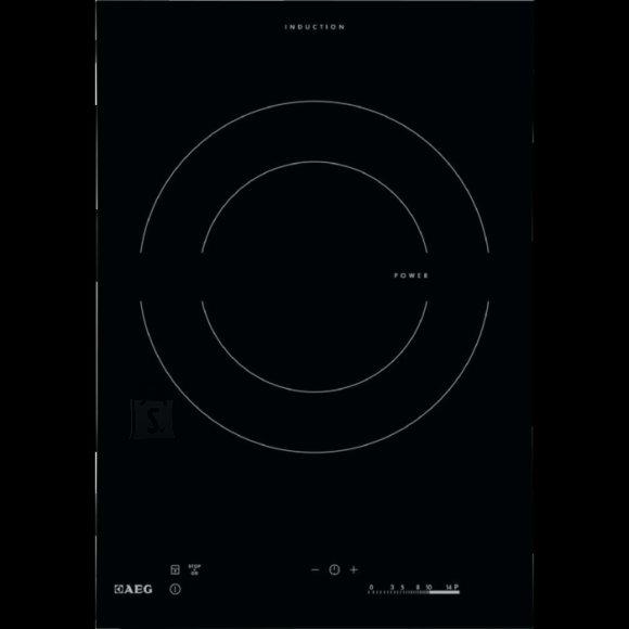 AEG pliidiplaat Crystal Line, Domino, 1xinduktsioon, 36 cm, lõigatud serv
