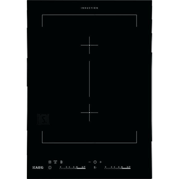 AEG pliidiplaat Crystal Line, Domino, 2xinduktsioon, 36 cm, lõigatud serv