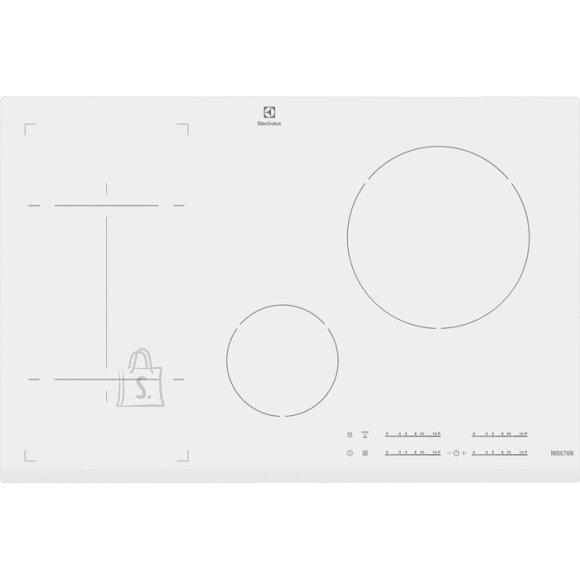 Electrolux pliidiplaat, 4 x induktsioon, 80 cm, valge, faasitud esiserv
