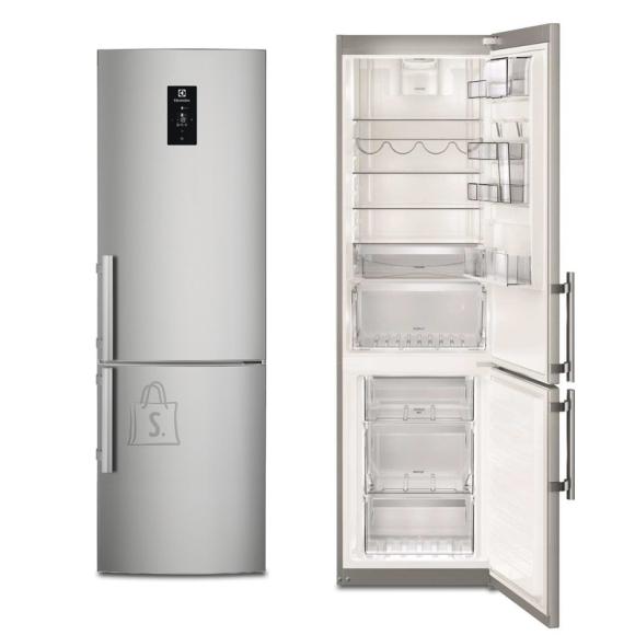 Electrolux külmik, NoFrost, 200 cm, A++, 41dB, puutetundlik, RV teras