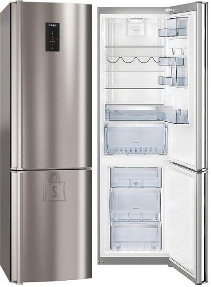 AEG külmik, NoFrost, 200 cm, A++, 41dB, RV teras, puutetundlik