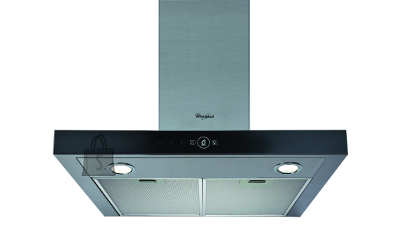 Whirlpool õhupuhastaja, seinale, 60cm, 704m3/h, 72 dB