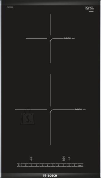 Bosch pliidiplaat, 2x induktsioon, domino, 30 cm, faasitud serv