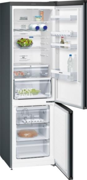 Siemens külmik, 203cm, A+++, 36dB, No-Frost, elektrooniline juhtimine, must