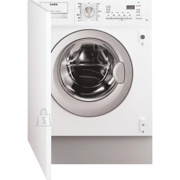 AEG pesumasin-kuivati, integreeritav, 1400p/min