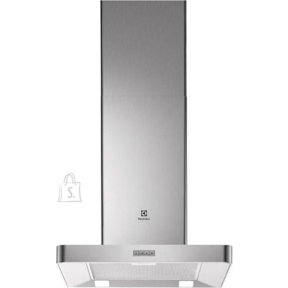 Electrolux õhupuhastaja, seina, 60cm, RV teras, 603m3/h, 69dB