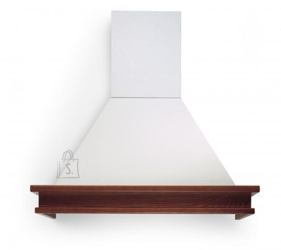 Falmec Seina õhupuhastaja TEMPO ANTICO 90cm, 600m3/h, halogeen 2x18W, raam viimistlemata, valge