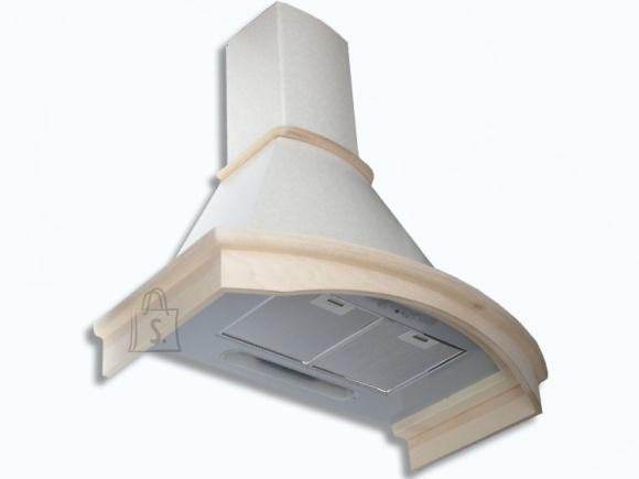 Falmec Seina õhupuhastaja MIMOSA 90cm, 600m3/h, halogeen 2x18W, gofreeritud korpus, raam viimistlemata, valge