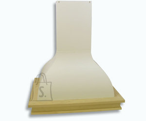 Falmec Seina õhupuhastaja IRIS MALIZIA 90cm, 600m3/h, halogeen 2x18W, raam viimistlemata, valge