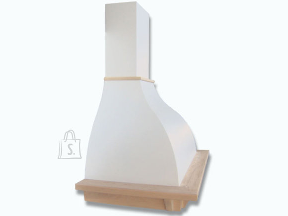 Falmec Seina õhupuhastaja IRIS TULIP 90cm, 600m3/h, halogeen 2x18W, raam viimistlemata, valge