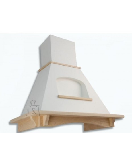 Falmec Seina õhupuhastaja MELISSA TULIP 90cm, 600m3/h, halogeen 2x18W, raam viimistlemata, valge