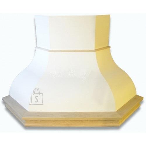 Falmec Nurga õhupuhastaja IRIS MALIZIA, 600m3/h, halogeen 2x18W, raam viimistlemata, valge