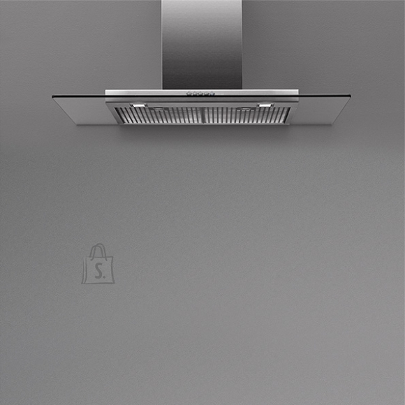 Falmec Seina õhupuhastaja KRISTAL 120cm, 800m3/h, LED 2x1,2W (3200K), rv teras AISI304