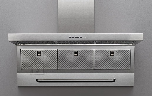 Falmec Seina õhupuhastaja MASTER 120cm, 800m3/h, LED 2x1,2W (3200K), rv teras AISI304