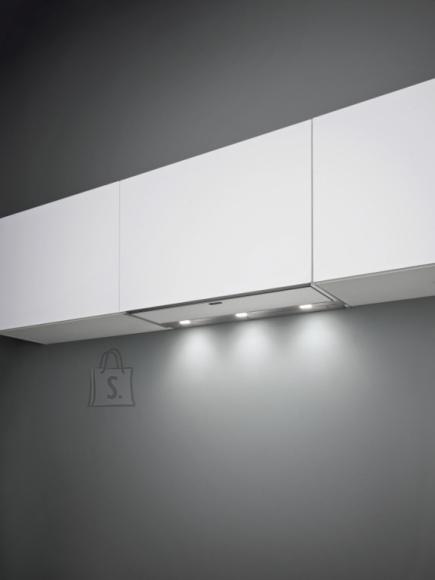 Falmec Integreeritav õhupuhastaja MOVE 120cm, 800 m3/h, LED 3x1,2W (3200K), rv teras AISI304/valge klaas