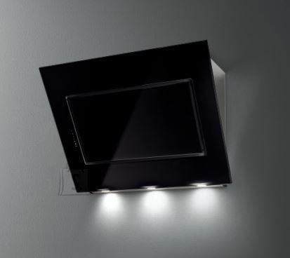 Falmec Seina õhupuhastaja QUASAR 60cm, 800m3/h, LED 2x1,2 (3200K), must klaas