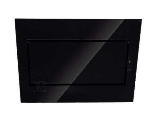 Falmec Seina õhupuhastaja QUASAR 90cm, 800m3/h, LED 3x1,2W (3200K), must klaas