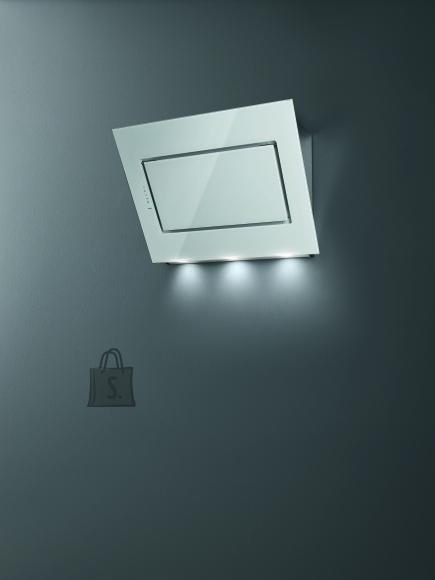 Falmec Seina õhupuhastaja QUASAR, 60cm, 800m3/h, LED 2x1,2W (3200K), valge klaas