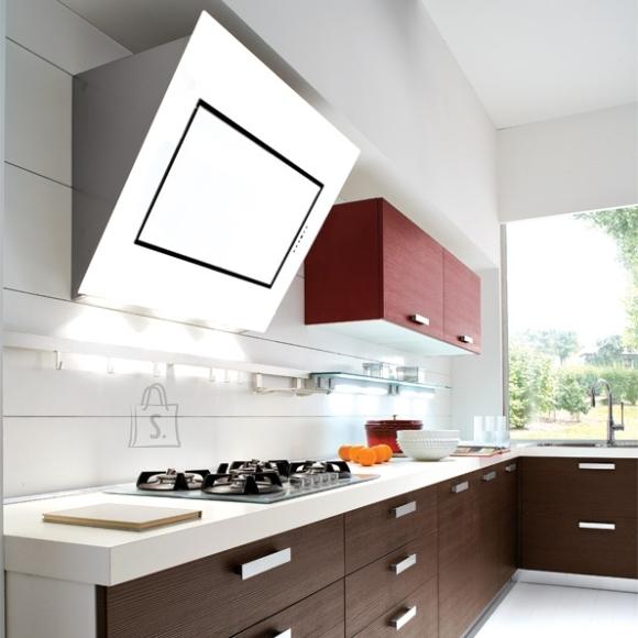 Falmec Seina õhupuhastaja QUASAR, 80cm, 800m3/h, LED 3x1,2W (3200K), valge klaas