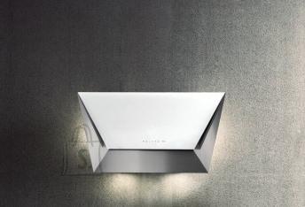 Falmec Seina õhupuhastaja PRISMA 115cm, 800m3/h, LED 2x1,2W (3200K), rv teras AISI304/valge klaas