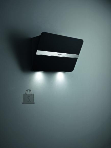 Falmec Seina õhupuhastaja FLIPPER, 85cm NRS, 800m3/h, LED 2x1,2W, must, max 53dB